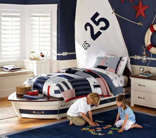Nautical Kids Room Design Interior Decorating