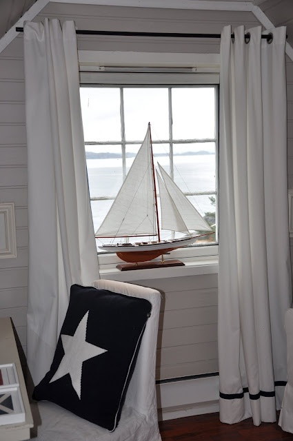 1930 classic yacht model decorative sailboats nautical - Nautical theme living room ...