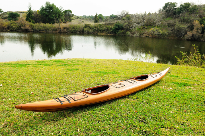 Red Cedar Handmade Wooden Kayak 2 persons