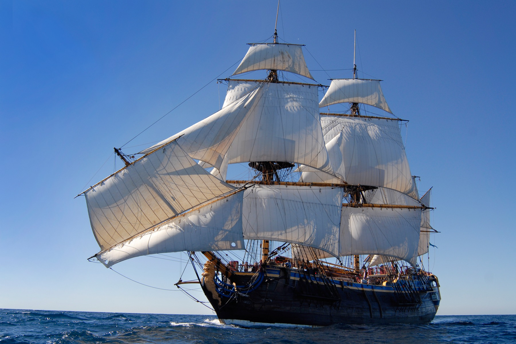 sailing ship in the-#13