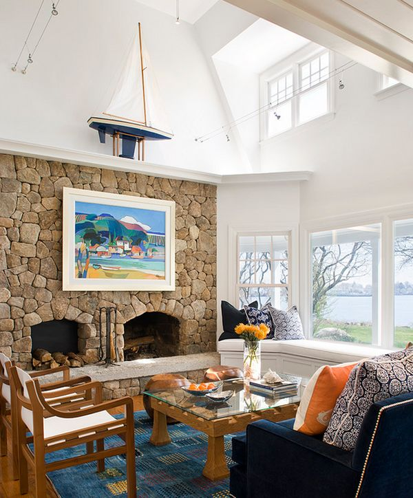 Model Homes Decorating: Sea- Inspired Interior Decorating Ideas, Captain Of Your