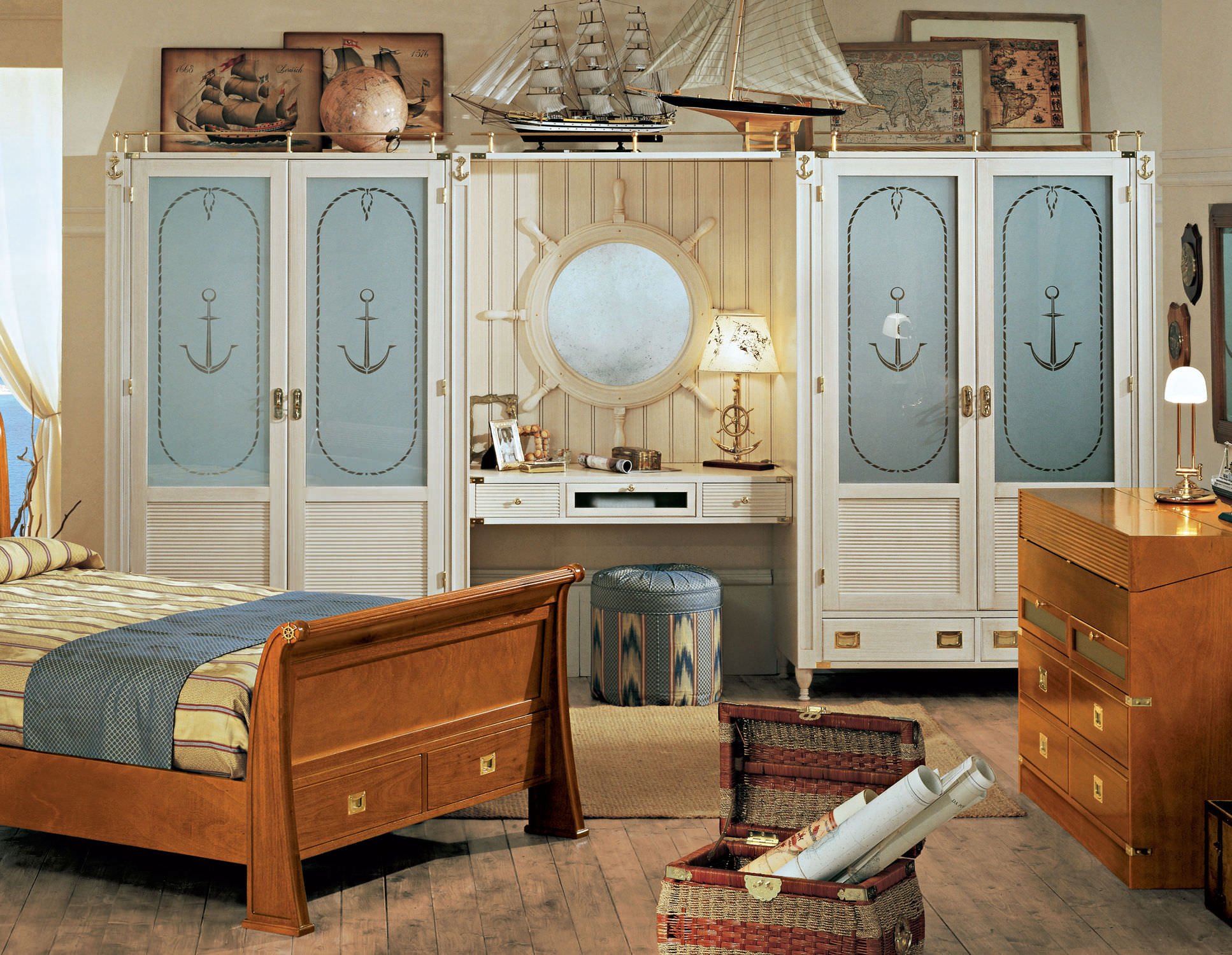 Go nautical it 39 s all about the sea for Decorating bedroom ideas