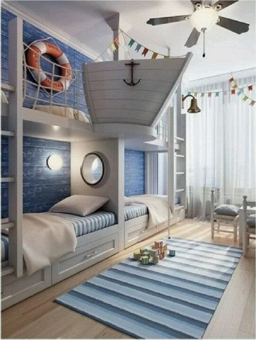 Nautical home nautical handcrafted decor blog for Kid room decor