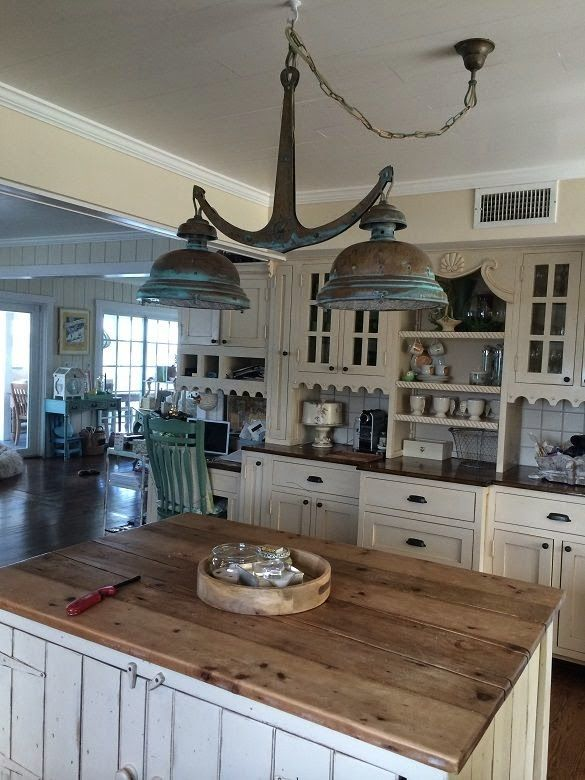 Nautical decorating and ideas for Nautical kitchen designs