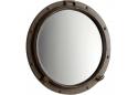 "23.5"" Rustic Bronze Porthole Mirror"