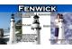Fenwick Island Stucco Electric Lawn Lighthouse 5'