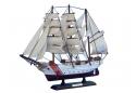"""Wooden United States Coast Guard USCG Eagle Model Ship 15"""""""