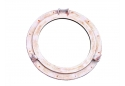 "Rustic Aluminum Decorative Ship Porthole Mirror 20"""