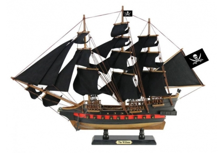 Pirate Ship Calico Jack's The William Black Sails