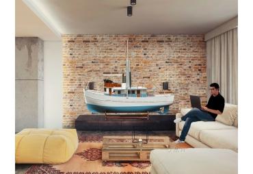 10 Feet Large Dickie Walker Boat Model 1:5 scale
