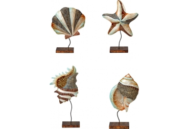 Capiz Shells & Starfish