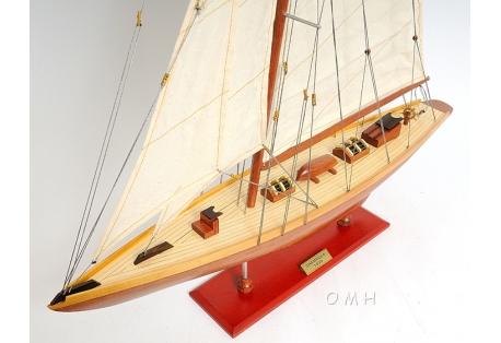 Americas Cup Yacht Model Shamrock