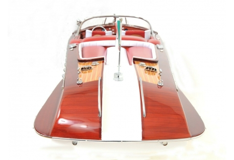"""1950s Riva Aquarama Speed Boat 35"""" RC Ready Model"""
