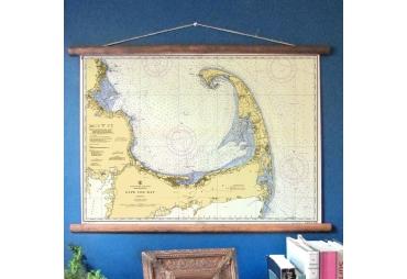 Cape Cod Vintage Chart, c. 1950