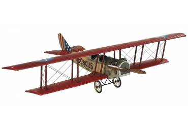 WWI Flying Circus Curtiss Jenny JN4 Biplane