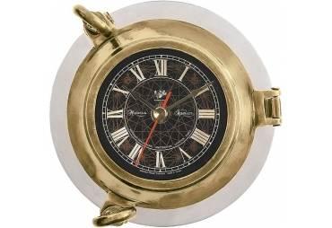 Aluminum Porthole Clock