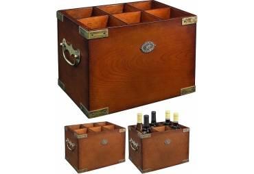 Deluxe Classic Bordeaux Wine Rack
