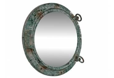 "Titanic Shipwrecked Porthole Mirror 15"""