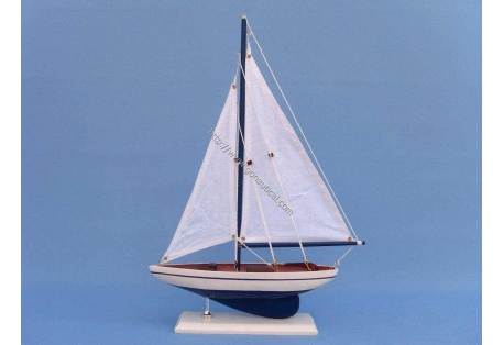 "Pacific Sailer 17"" - Dark Blue"