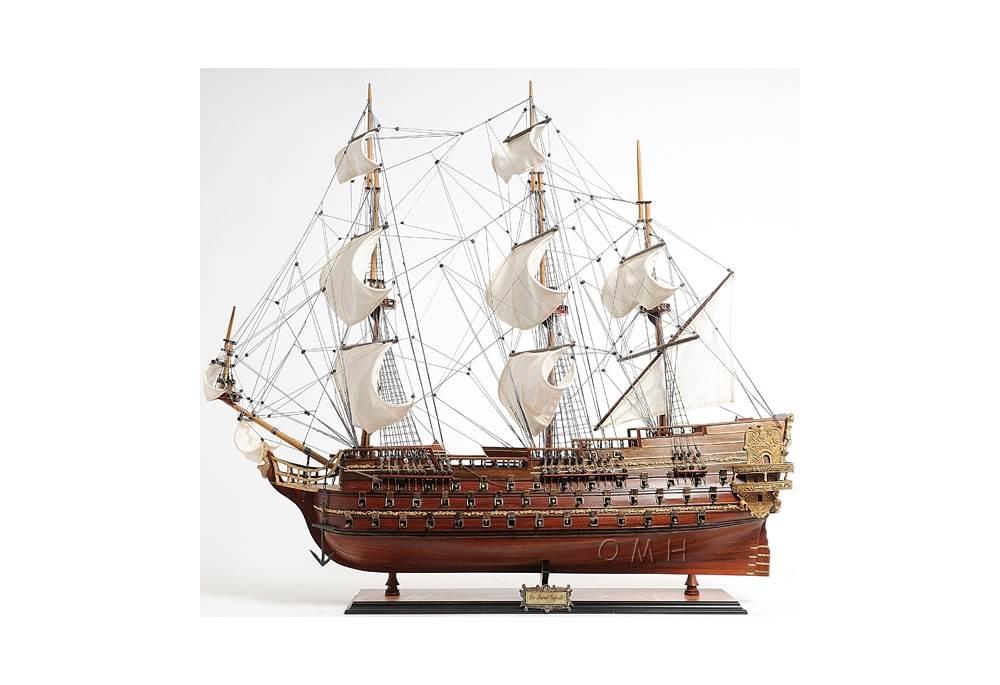Royal Navy Gunship Saint Esprit Model