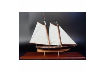 America, 1851 Scaled Schooner Model