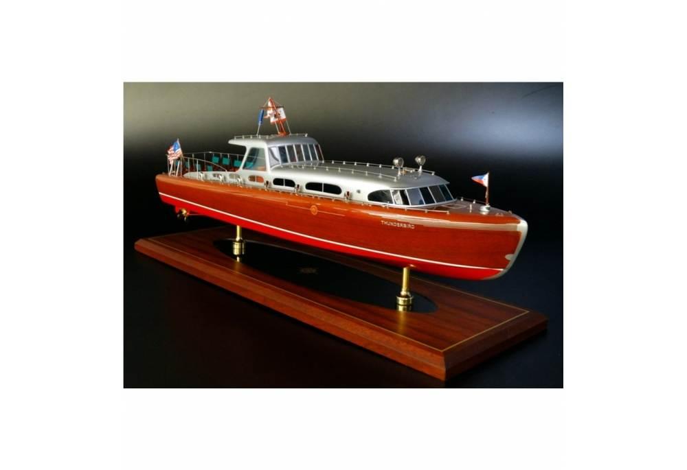 Hacker Craft 55 Quot Thunderbird Quot Classic Speed Boat Model