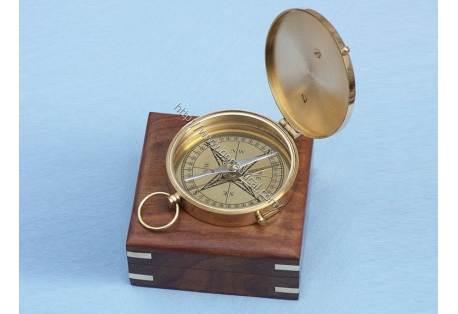 """Admiral's Brass Sundial Compass 4"""""""