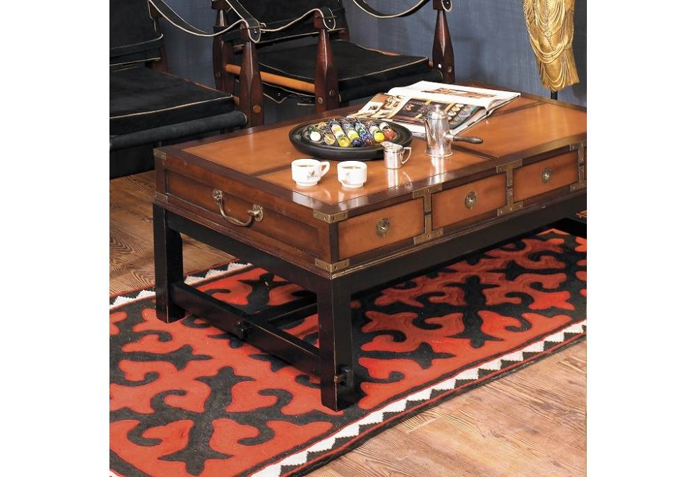 Authentic Models Bombay Salon Coffee Table Honey