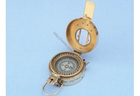 "Brass Engineers Compass 5"""