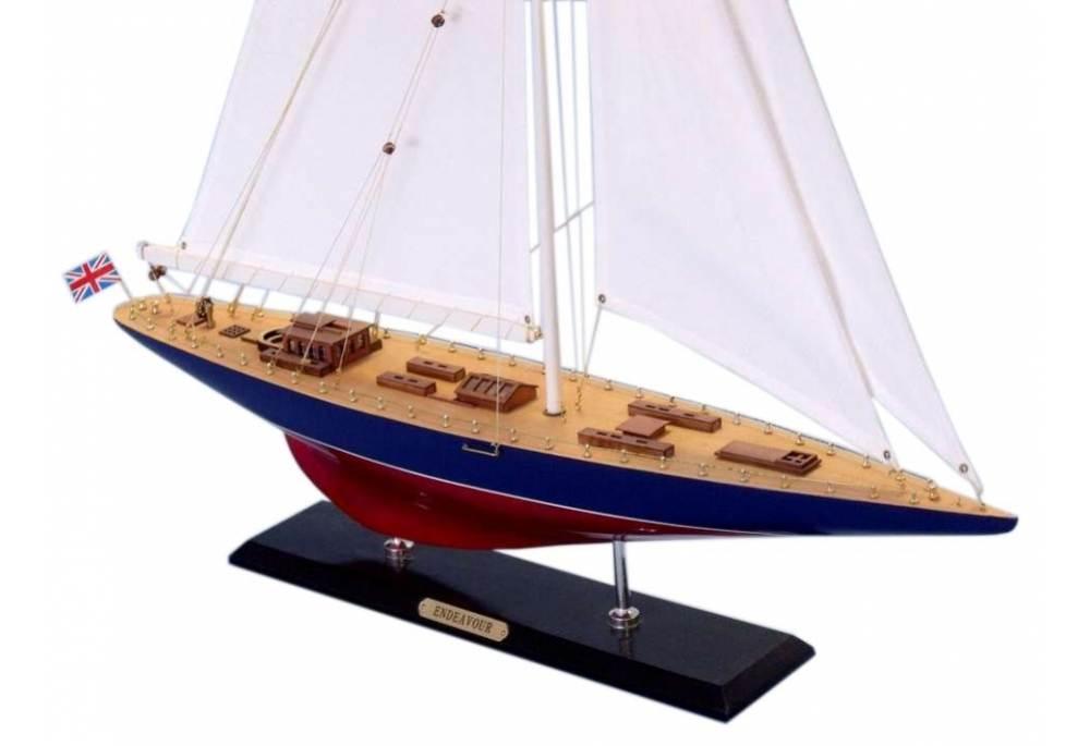 Sclaled Sail Boat Model Endeavour