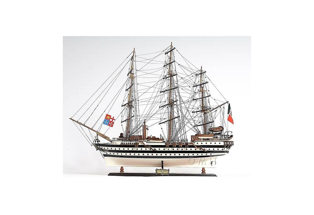 1930 Amerigo Vespucci Tall Ship Model Gonautical