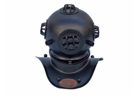 """Black Iron Divers Helmet 8"""""""
