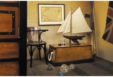 Yacht Ironsides Sloop Model