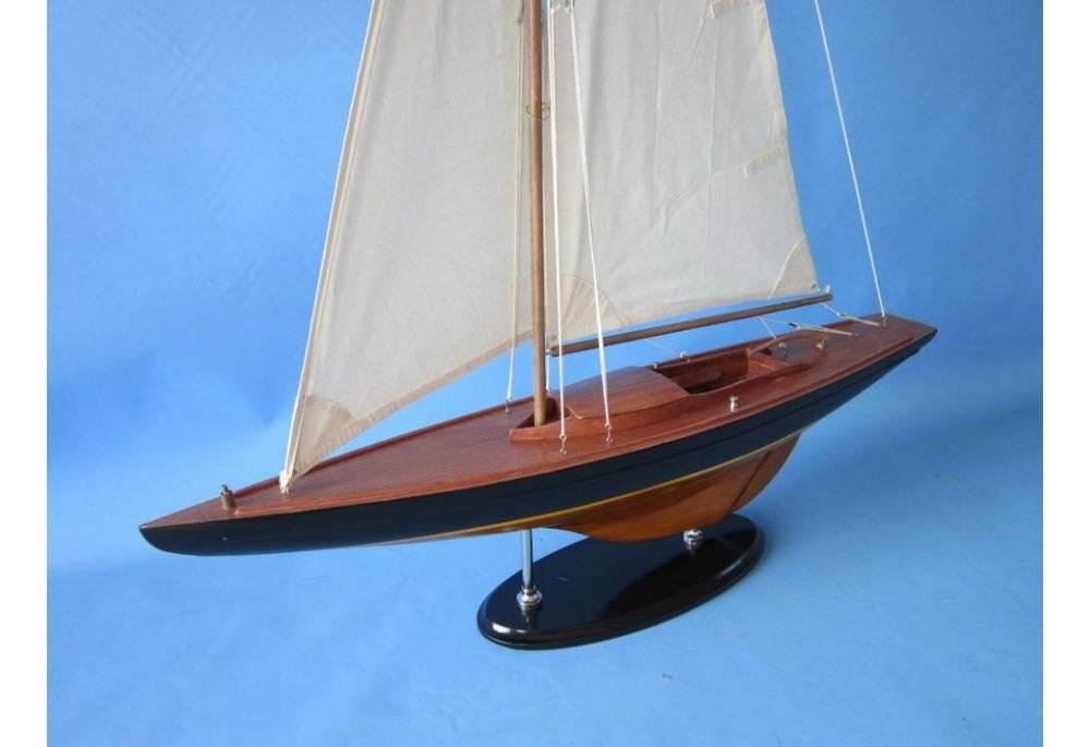 Olympic Class Sailboat Model Replica