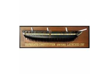 USS Constitution 1797 Half Hull