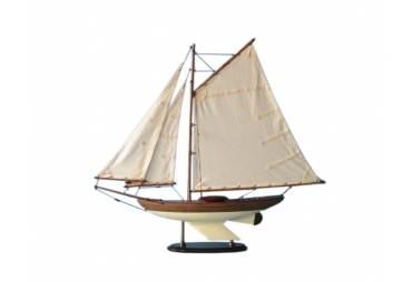 "Wooden Fine Sailing Sloop 26"""