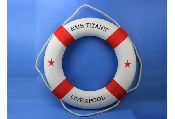 Rms Titanic Decorative Lifering
