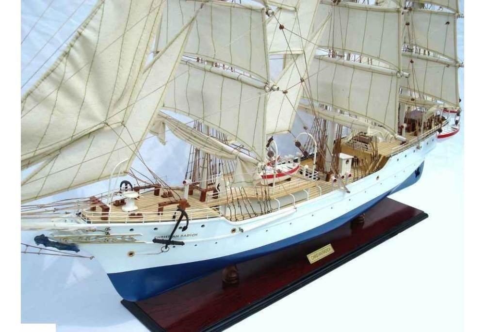 Christian Radich Wooden Tall Ship Model