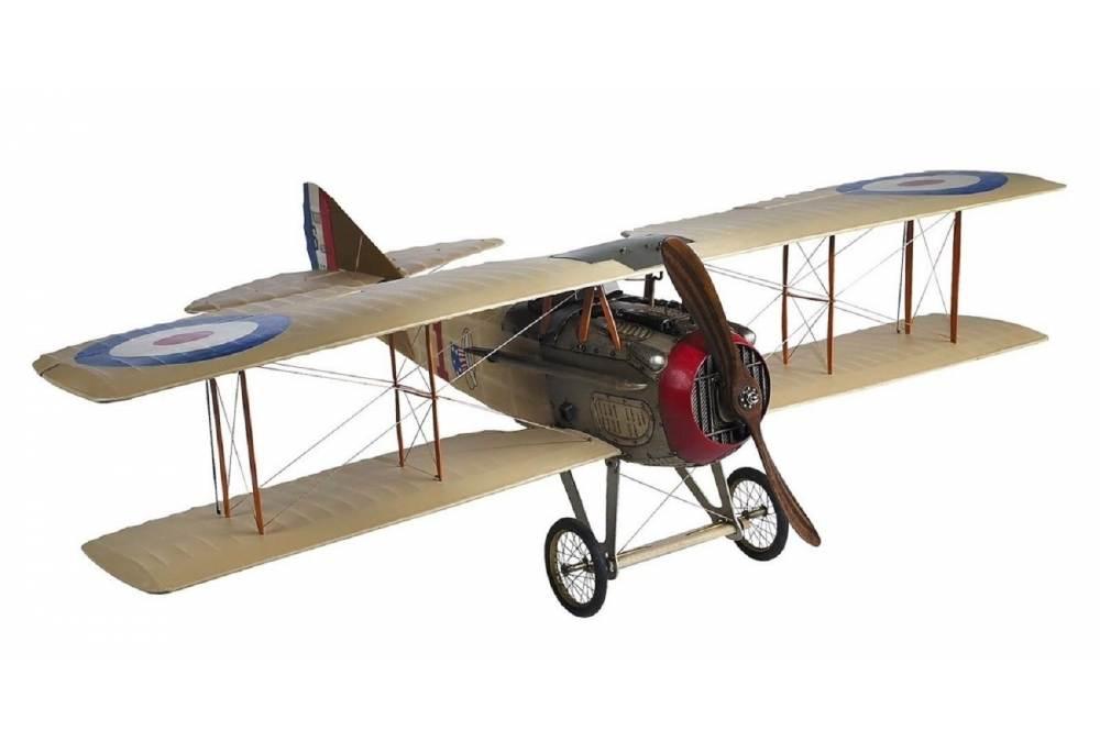 Spad Xiii Classic Eddie Rickenbacker Airplane Gonautical