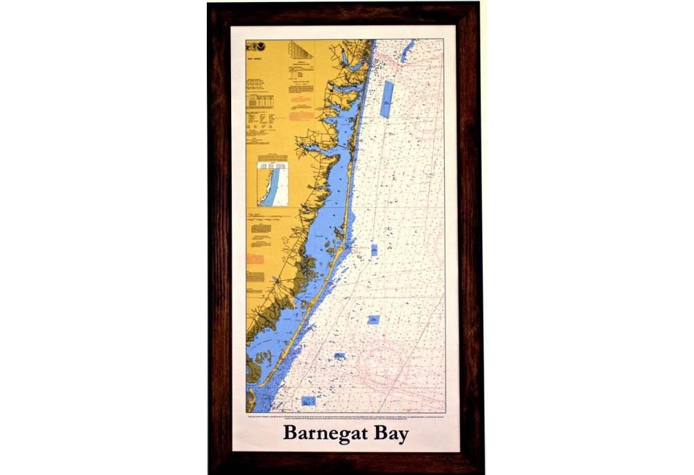 Barnegat Bay Chart For Decoration