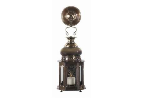 Venetian Bronze Candle Lantern