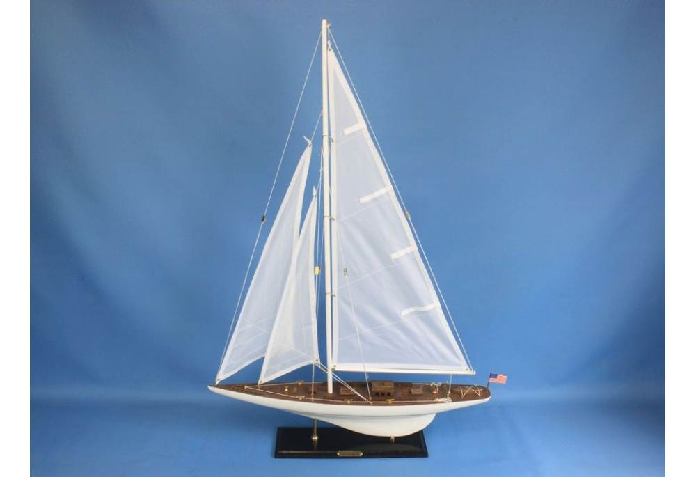 Decorative Sail Boat Model Intrepid