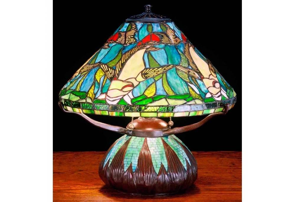 Tiffany Nautical Art Glass