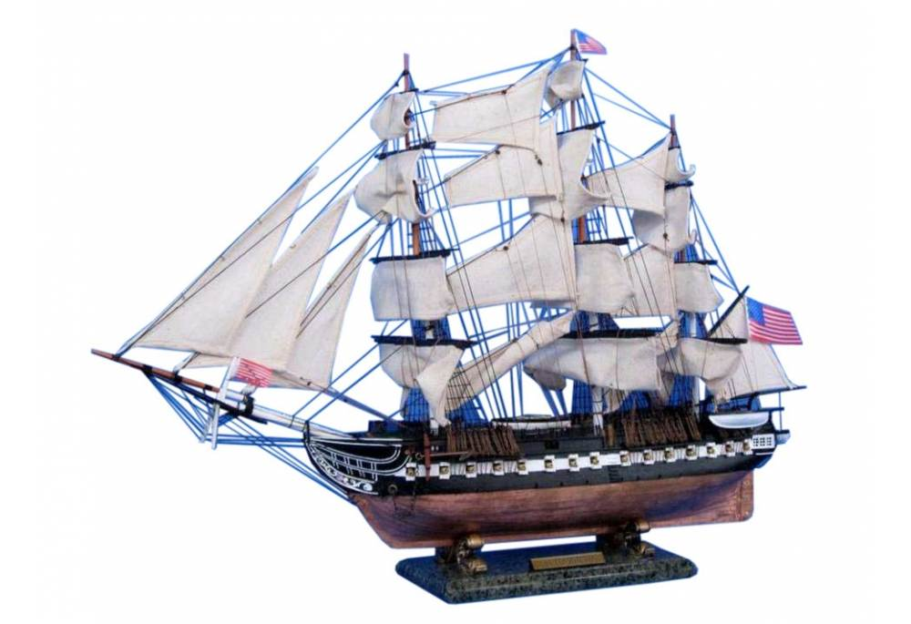 Uss Constitution Wooden Model Ship 30 Quot Old Ironsides