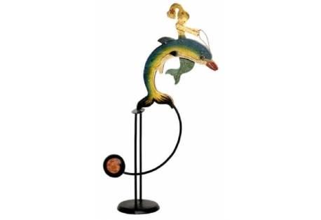 Mermaid & Dolphin Sky Hook