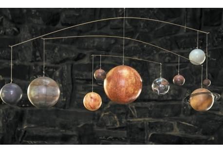 Mobile Solar System Decoration