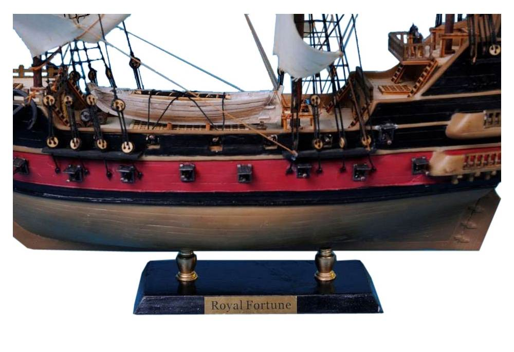 Pirate Ship Model Black Bart S Royal Fortune