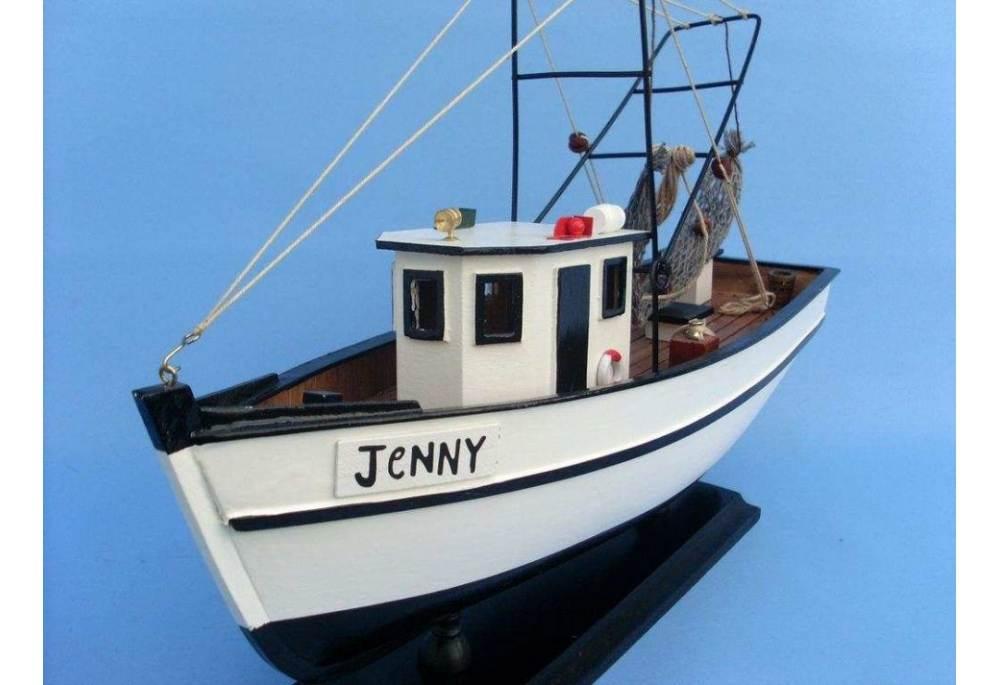 Forest Gump Boat Jenny Model