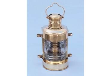 "Brass Masthead Electric Lamp 14"""