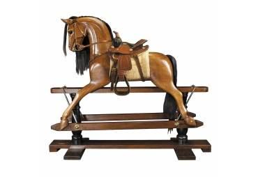 Rocking Horse  Western Saddle